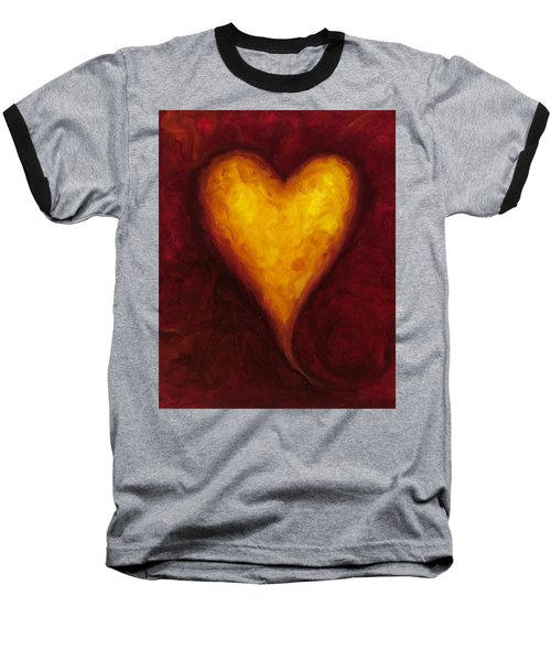 Heart Of Gold 1 Baseball T-Shirt
