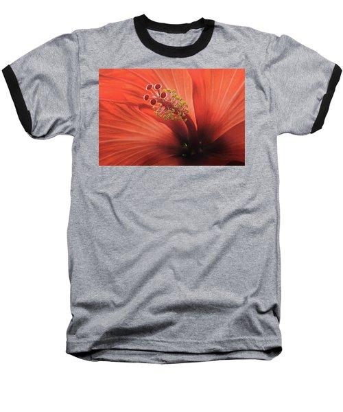 Heart Of Hibiscus Baseball T-Shirt