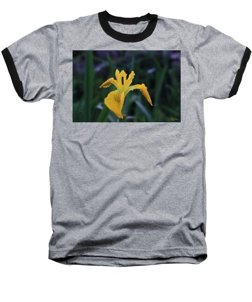 Heart Of Iris Baseball T-Shirt