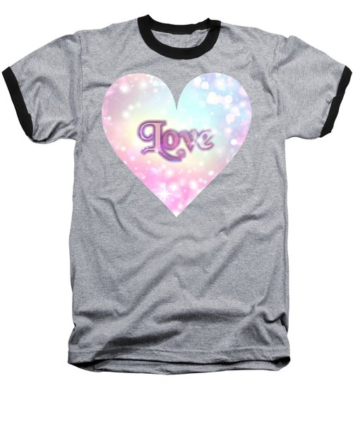 Heart Of Love Baseball T-Shirt
