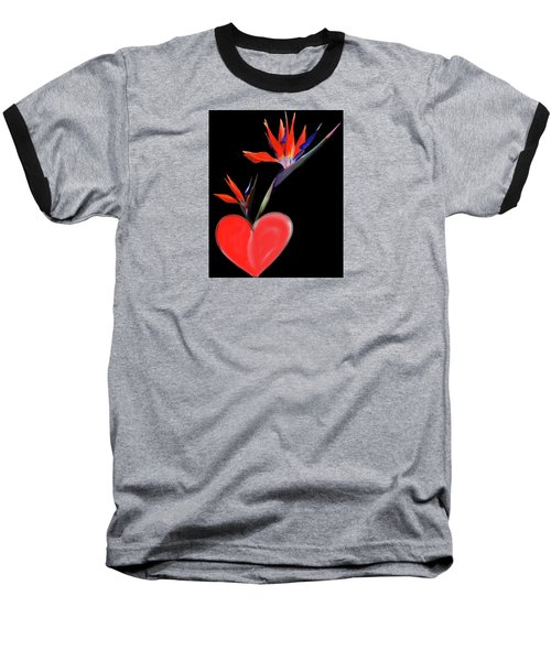 Heart  Of Paradise Baseball T-Shirt
