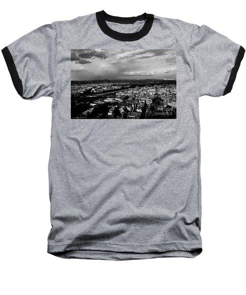 Paris 3 Baseball T-Shirt