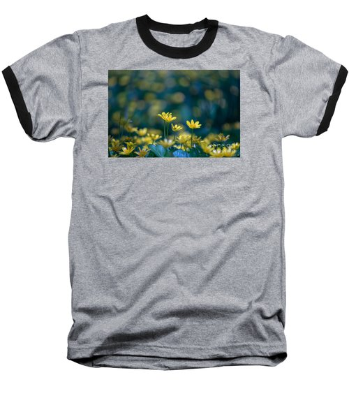 Baseball T-Shirt featuring the photograph Heart Of Small Things by Rima Biswas