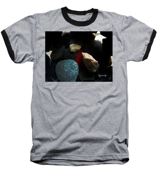 Baseball T-Shirt featuring the photograph Heart Of Stone by RC DeWinter