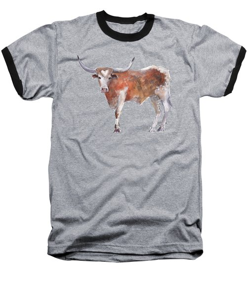 Heart Of Texas Longhorn Baseball T-Shirt