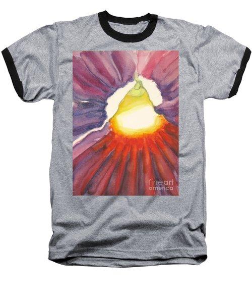 Heart Of The Flower Baseball T-Shirt