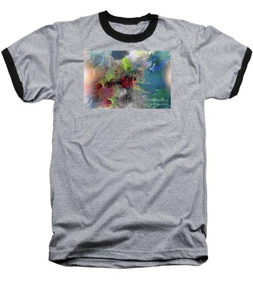 Heart Of The Matter Baseball T-Shirt by Allison Ashton