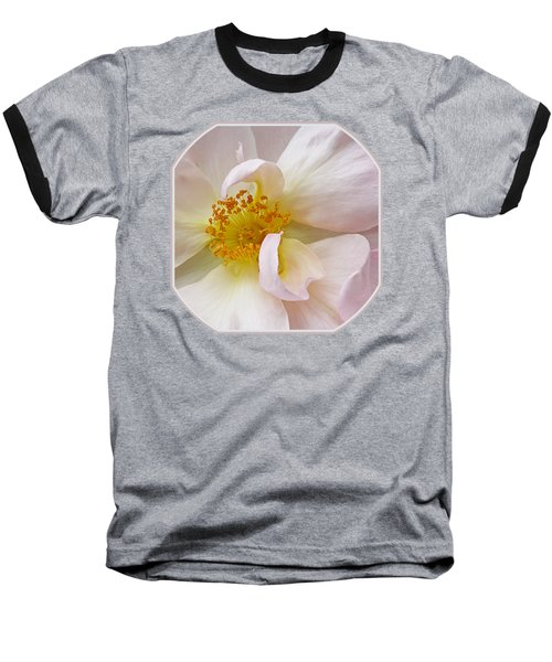 Heart Of The Rose Baseball T-Shirt