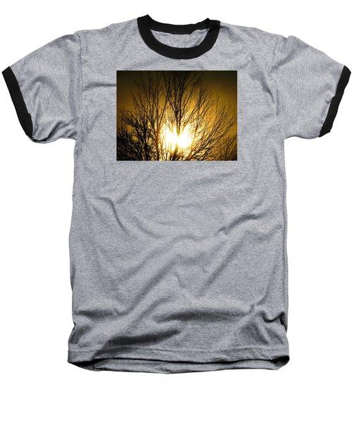 Heart Of The Sun Baseball T-Shirt