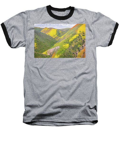 Baseball T-Shirt featuring the photograph Heart Of The Temblor Range by Marc Crumpler