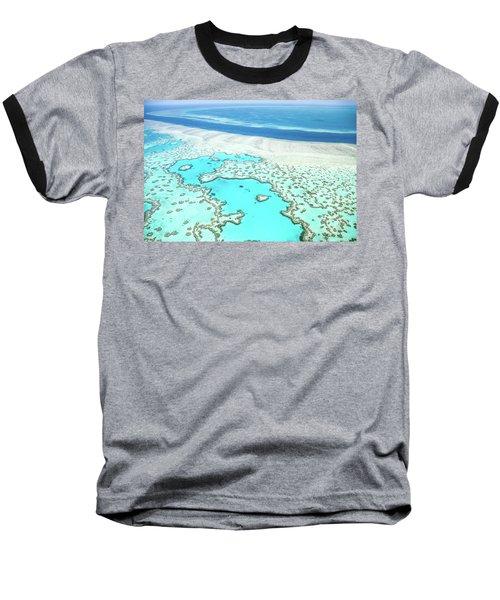 Baseball T-Shirt featuring the photograph Heart Reef by Az Jackson