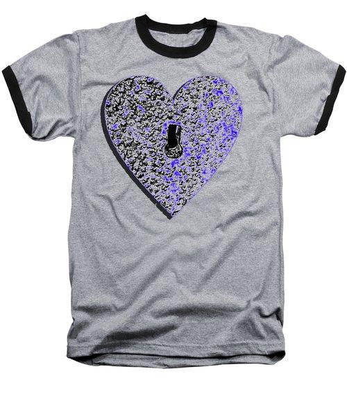 Heart Shaped Lock .png Baseball T-Shirt
