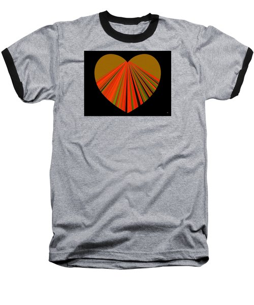 Heartline 5 Baseball T-Shirt by Will Borden