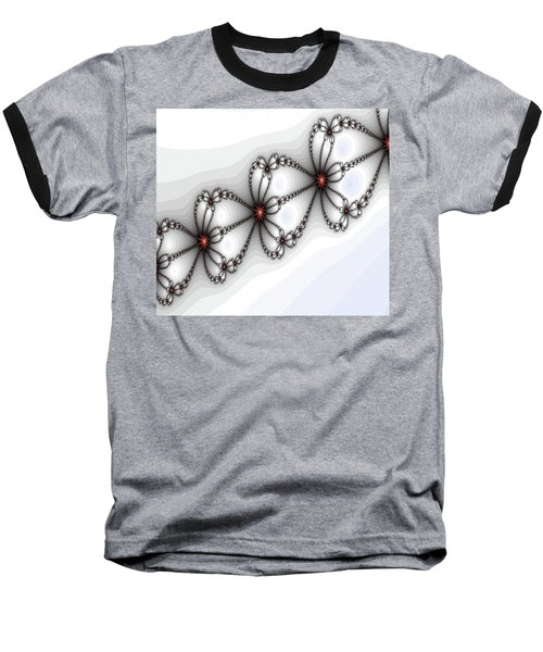 Hearts Of Fire Baseball T-Shirt