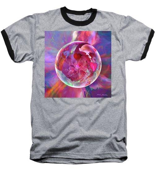 Hearts Of Space Baseball T-Shirt