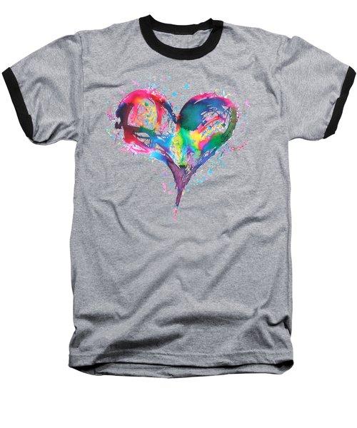 Hearts 6 T-shirt Baseball T-Shirt