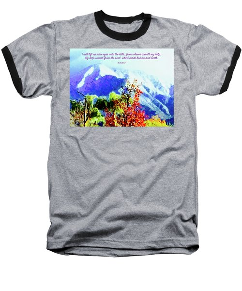 Heaven And Earth Baseball T-Shirt by Russell Keating