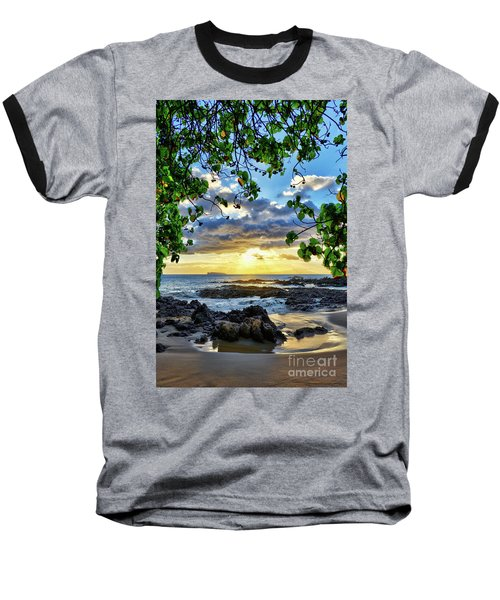 Heaven On Maui Baseball T-Shirt