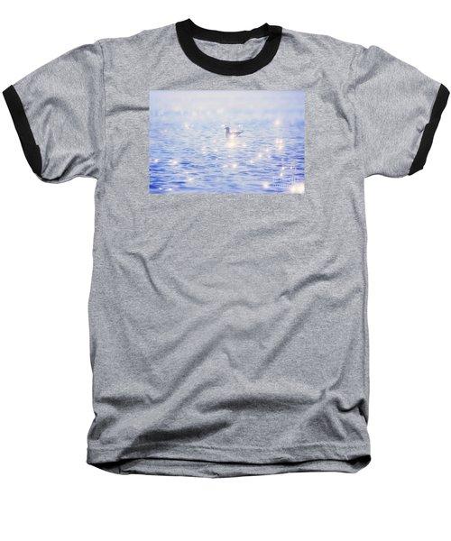 Baseball T-Shirt featuring the photograph Heaven On The Lake- Lake Mary Ronan  by Janie Johnson
