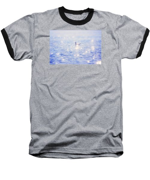 Heaven On The Lake- Lake Mary Ronan  Baseball T-Shirt