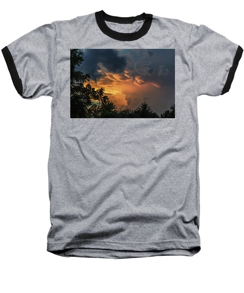 Heavenly Clouds Baseball T-Shirt