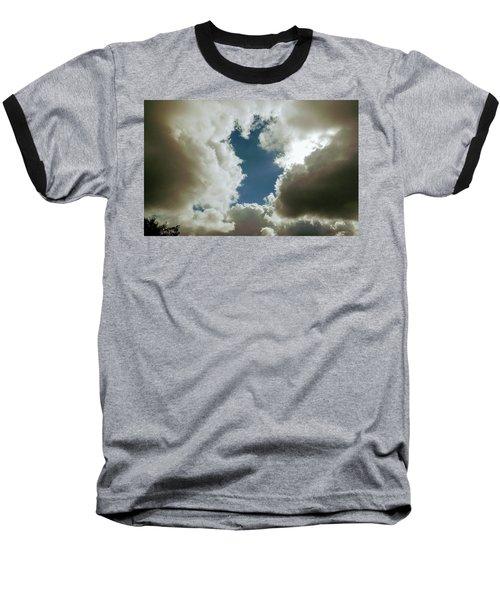 Majestic Clouds  Baseball T-Shirt