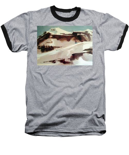 Baseball T-Shirt featuring the painting Heavenly by Ed Heaton