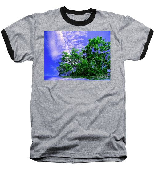 Baseball T-Shirt featuring the photograph Heavenly by Elfriede Fulda