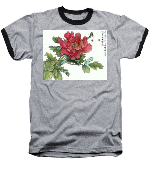 Heavenly Flower Baseball T-Shirt