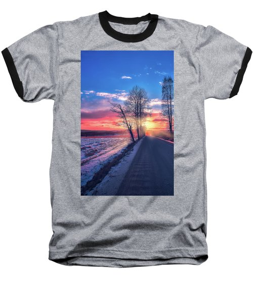 Heavenly Journey Baseball T-Shirt