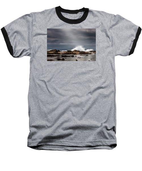 Heavenly Light Baseball T-Shirt by Ed Clark