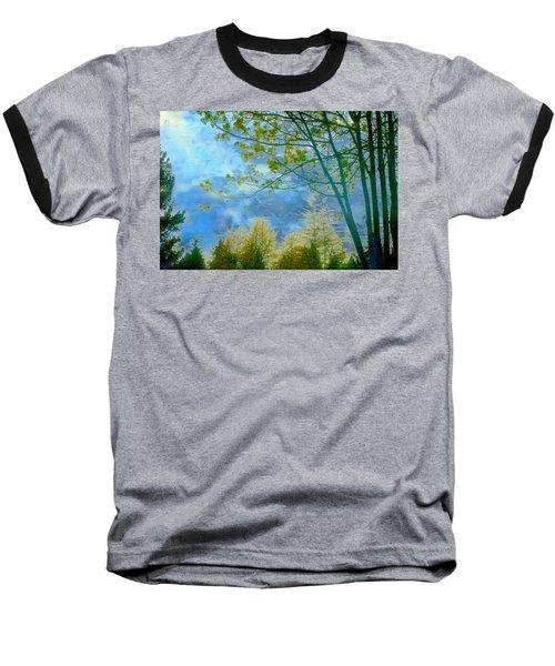 Heavenly Light II Baseball T-Shirt