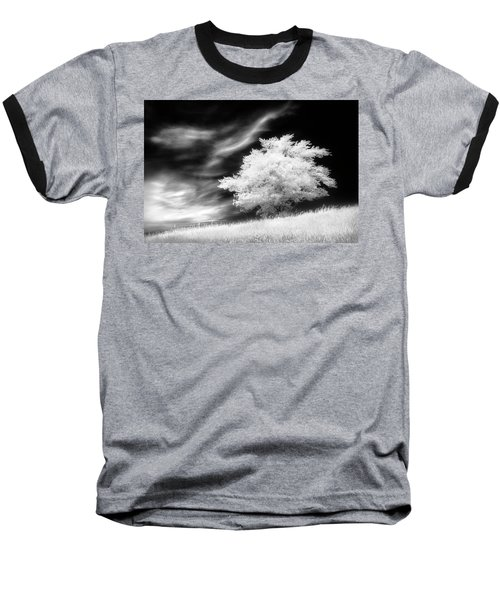 Heavenly Places Baseball T-Shirt by Dan Jurak