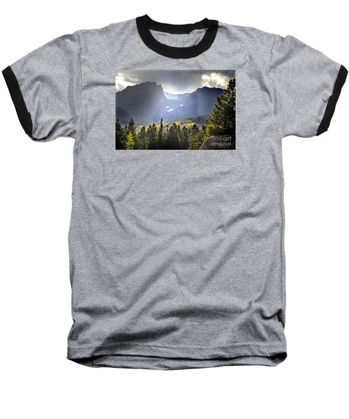 Baseball T-Shirt featuring the photograph Heavenly Rockies  Rmnp by Nava Thompson