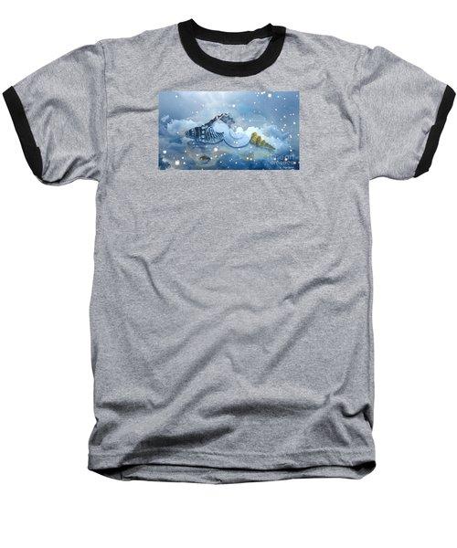 Heavenly Shells Baseball T-Shirt