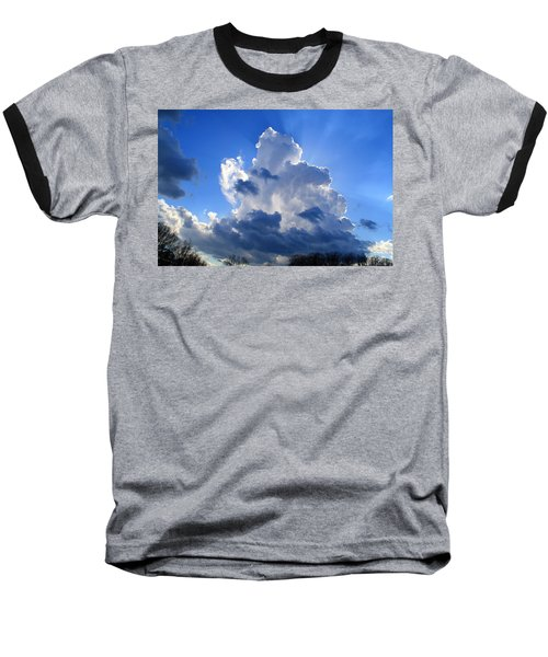 Baseball T-Shirt featuring the photograph Heavenly Sunlight by Kathryn Meyer