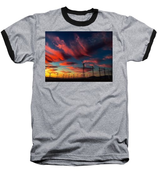 Heavenly Sunrise Baseball T-Shirt