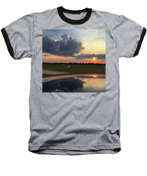 Heavenly Sunset Baseball T-Shirt