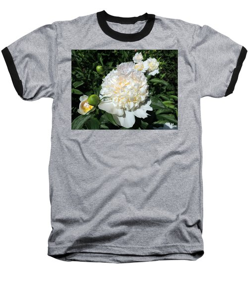 Heavenly White Baseball T-Shirt