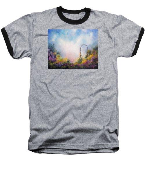 Heaven's Gate Baseball T-Shirt by Marina Petro