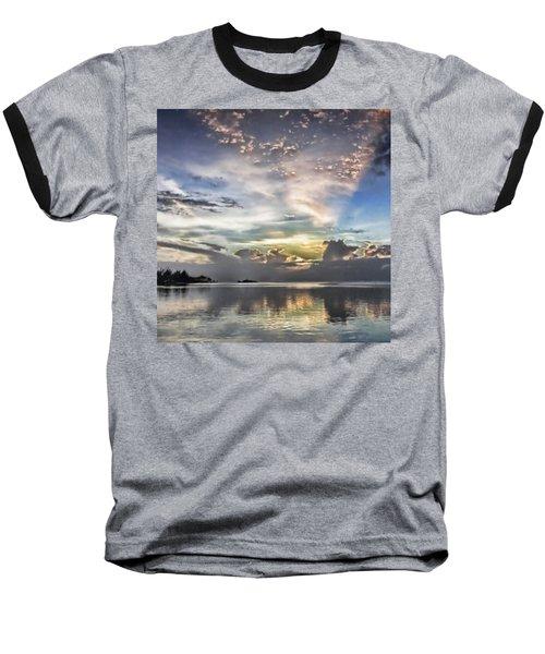 Heaven's Light - Coyaba, Ironshore Baseball T-Shirt by John Edwards