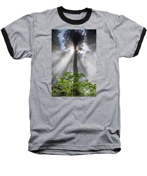 Heaven's Light Baseball T-Shirt by Greg Nyquist