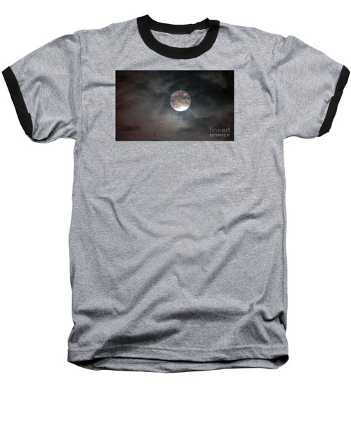 Baseball T-Shirt featuring the photograph Heaven's Work by Sandy Molinaro