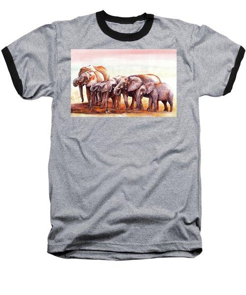 Heavy Drinkers Baseball T-Shirt