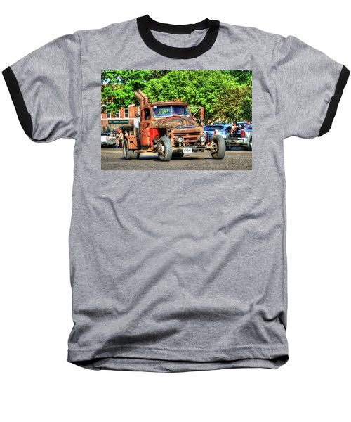 Heavy Duty Custom Dodge Baseball T-Shirt