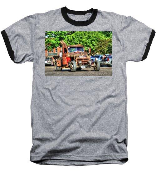 Heavy Duty Custom Dodge Baseball T-Shirt