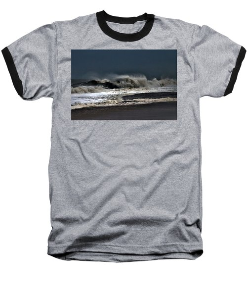 Stormy Surf Baseball T-Shirt