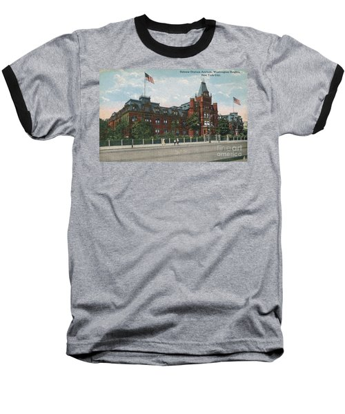 Baseball T-Shirt featuring the photograph Hebrew Orphan Asylum by Cole Thompson