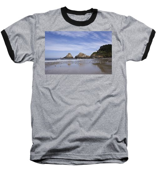 Heceta Head Lighthouse 1 Baseball T-Shirt