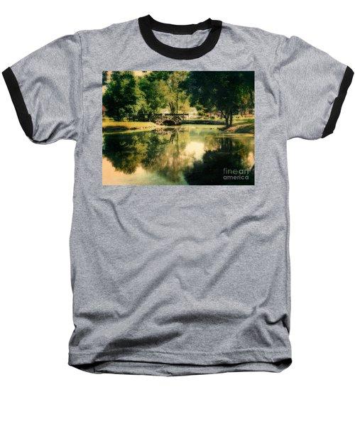 Heckscher Park Pond, Huntington Ny Baseball T-Shirt